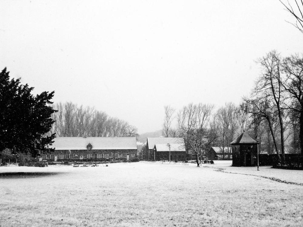 Winter ∙ Abdij Vlierbeek, Kessel-Lo