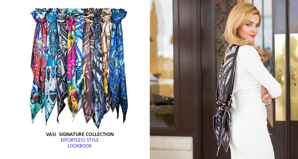 VASI MODA EFFORTLESS STYLE LUXURY SCARF