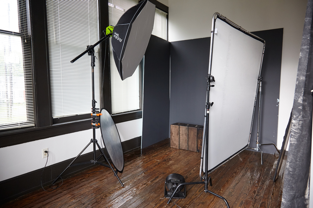 Michael Populus Photography setup