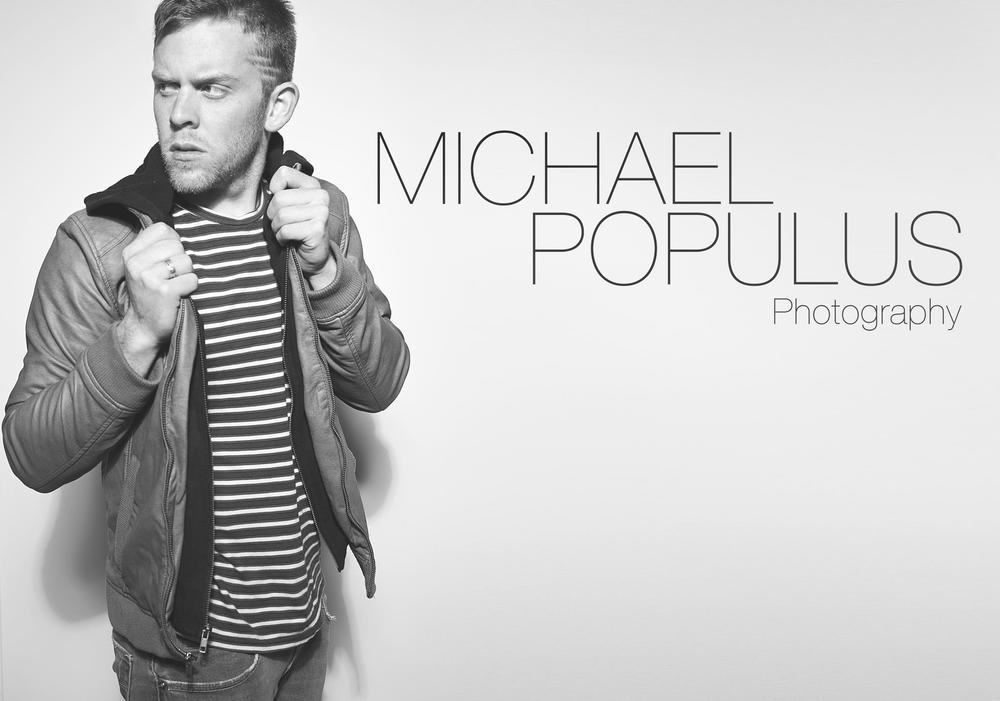 Mandeville Photographer Michael Populus photographs himself