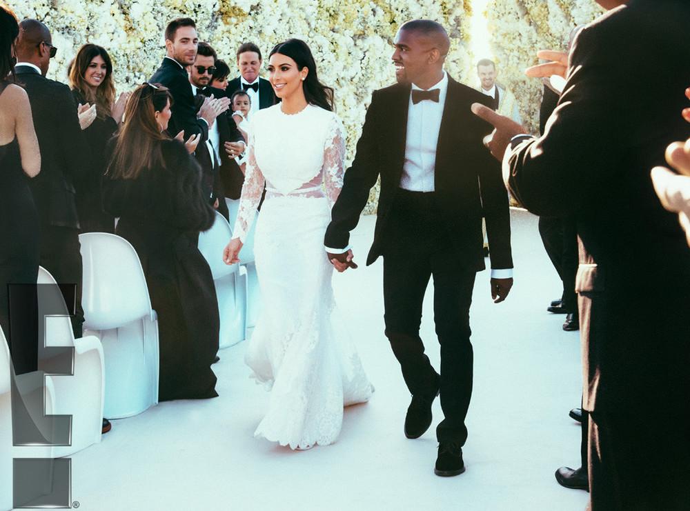Kim Kardashian in Bespoke Givenchy