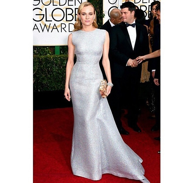 Diane Kruger in Emelia Wickstead