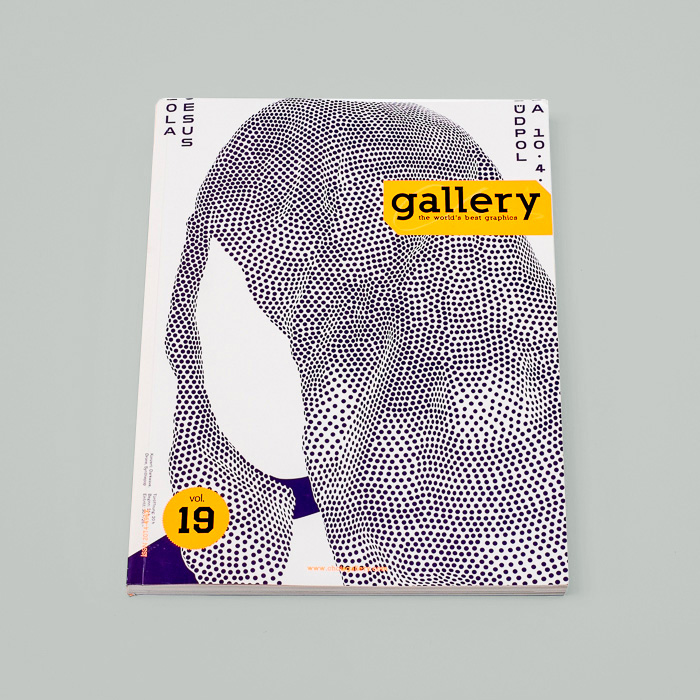 Chois Gallery Vol. 19 Magazine with an abstract woman illustration on it