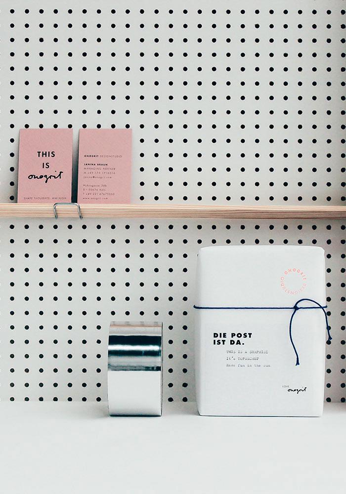 ONOGRIT Designstudio Branding