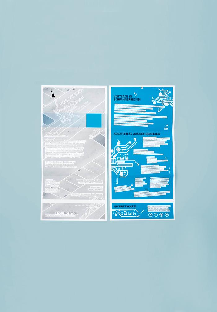 Ausstellungsdesign für Pool Position