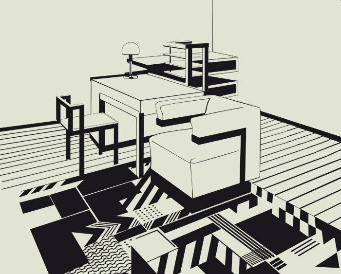 Comic über das Bauhaus