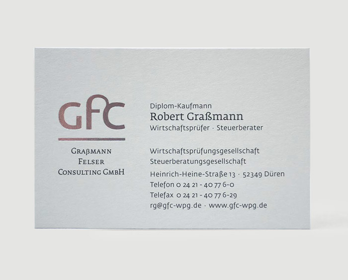 R. Graßmann Logo & Corporate Design
