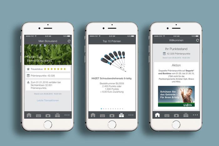 Syngenta Bonusland Mobile App