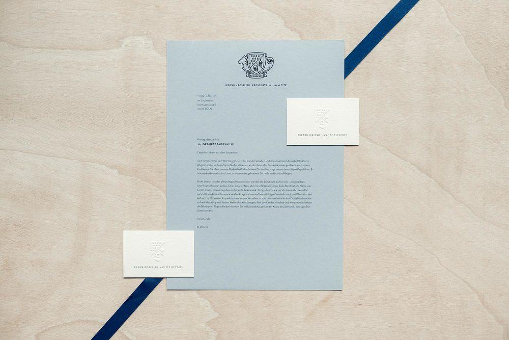 Corporate Identity für ein Design Studio