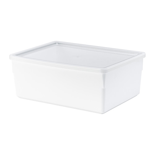 Perfect for flours, pastas, etc. Comes in a few different shapes and sizes. Find it at IKEA  here