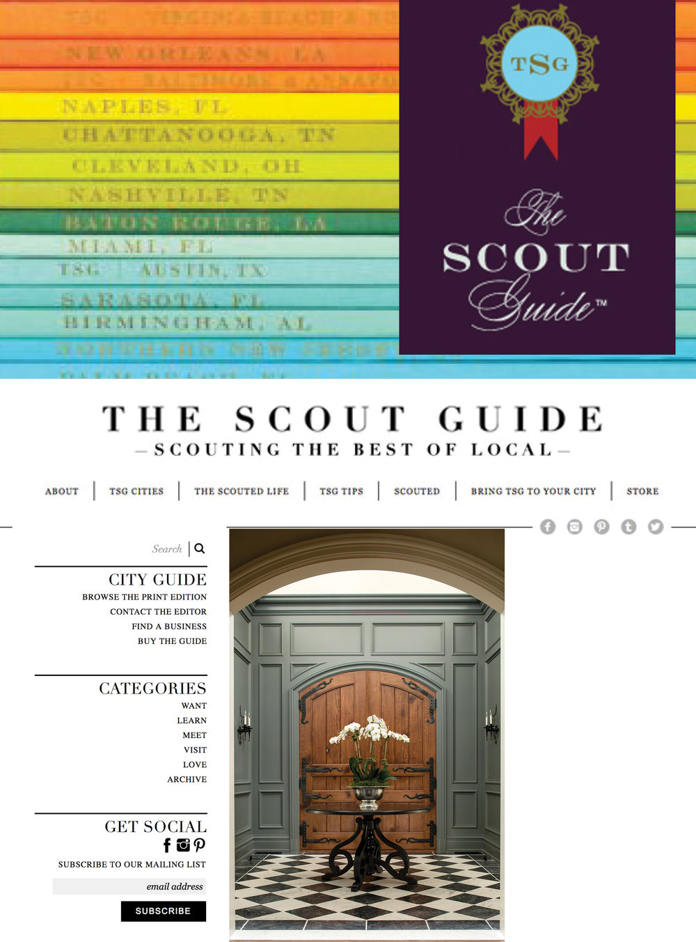 SUMMIT HOUSE TOUR. THE SCOUT GUIDE. 2017