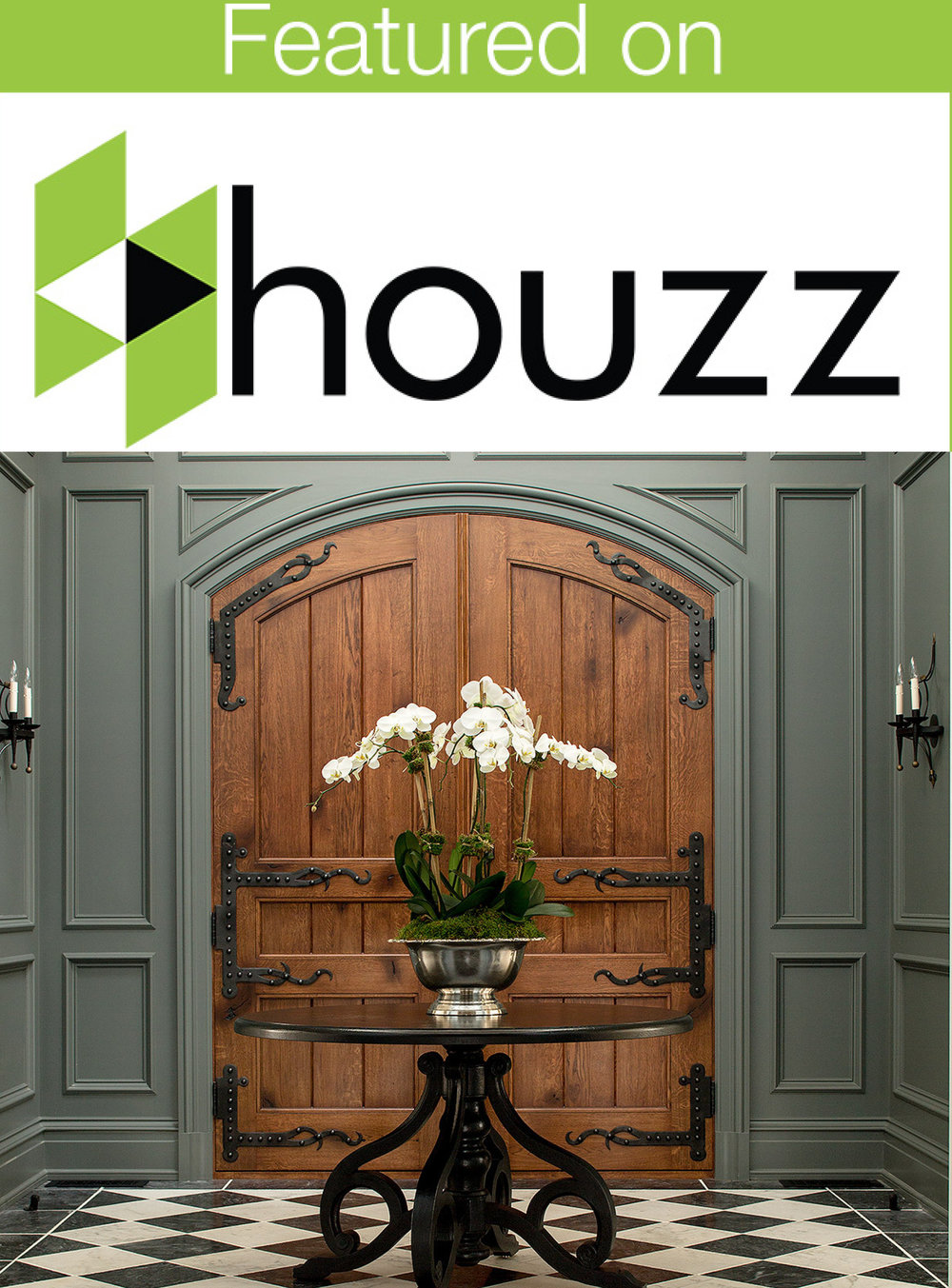 TOP 20 ENTRYWAYS. HOUZZ 2016.