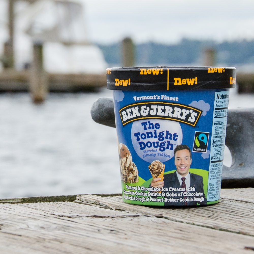 Photograph created by Kenton Bradley for Ben & Jerry's Saved Our Swirled Tour - Seattle social media campaign
