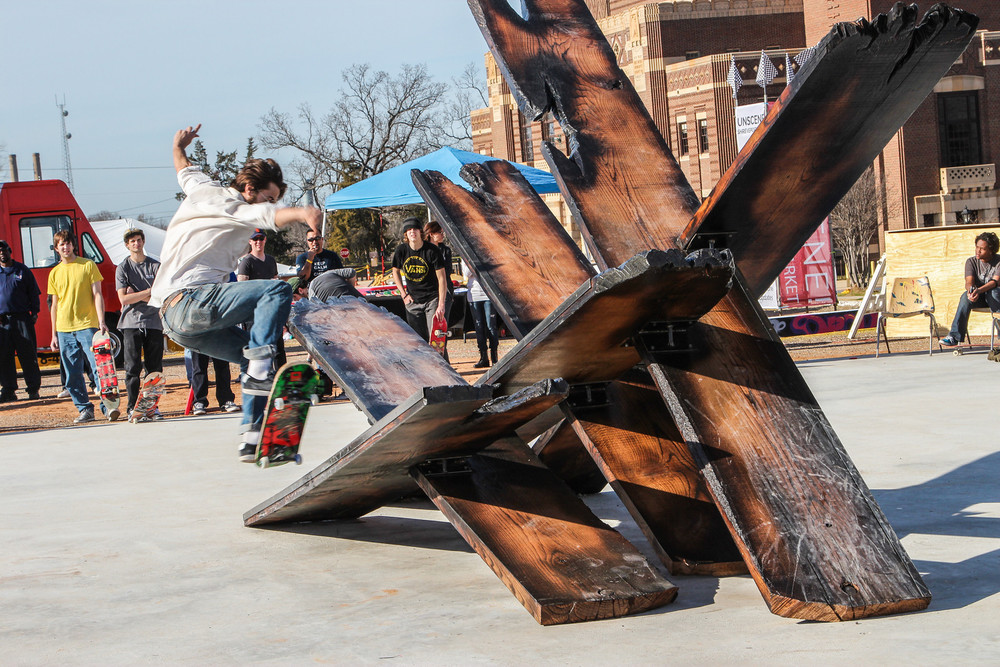 Skate-able Sculpture