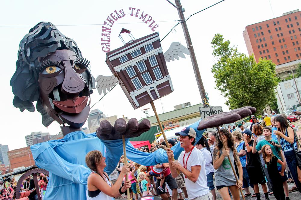 Wayne White Puppet Parade