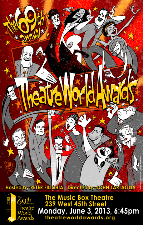 The Theatre World Awards poster, 2013