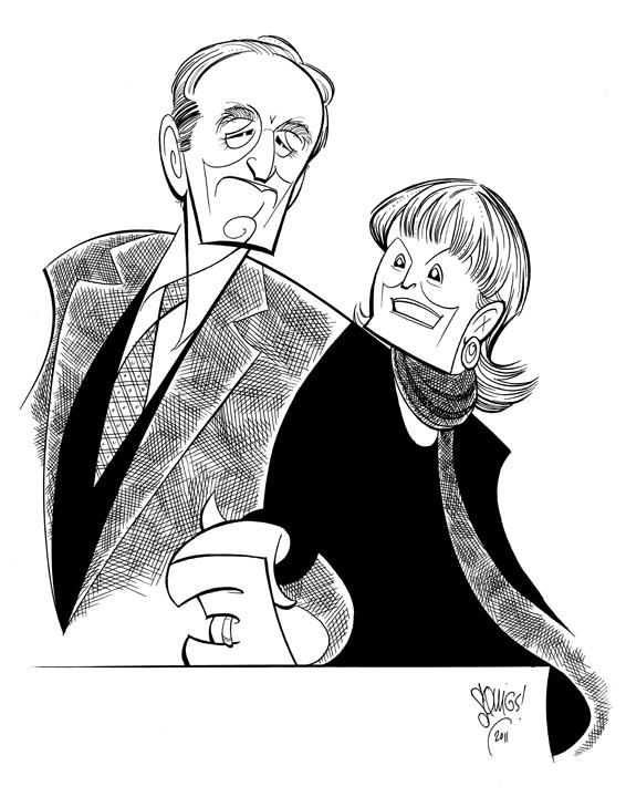 Arthur & Barbara Gelb.