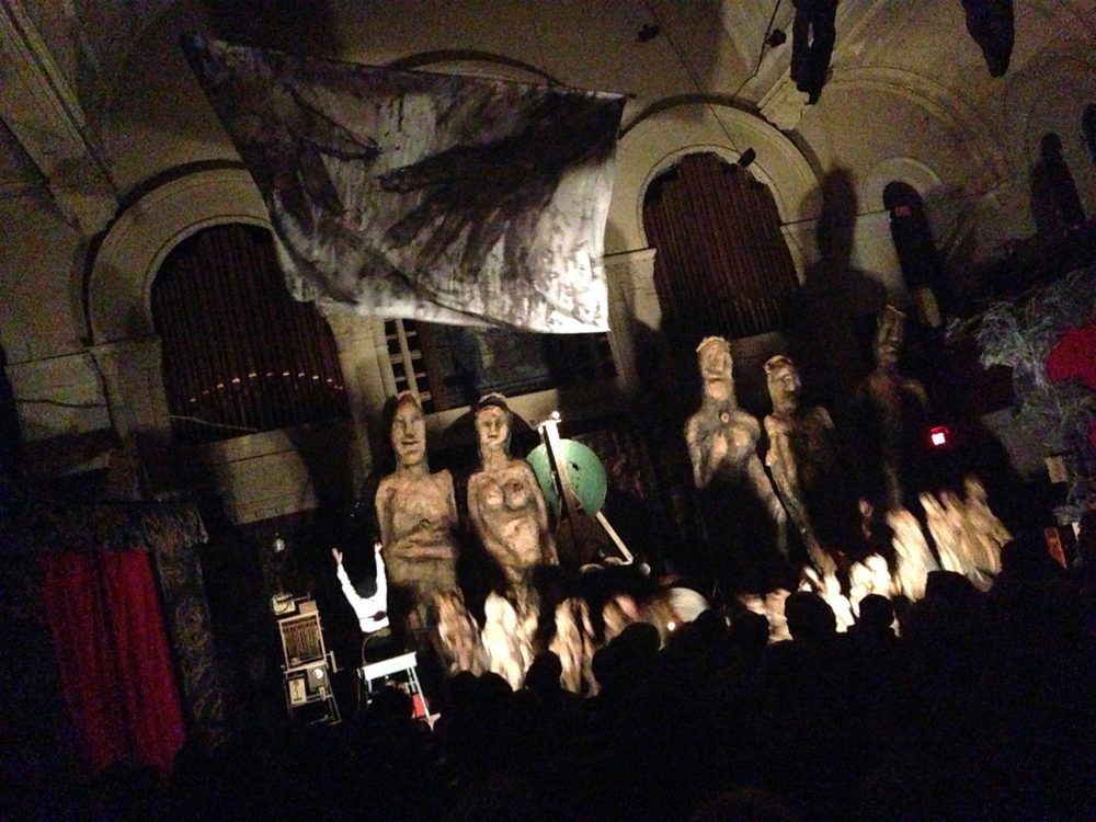 Bread & Puppet Theater at West Park Presbyterian Church, 2013.
