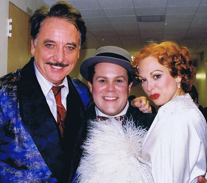 Bob Gunton, me, and Carolee Carmello.