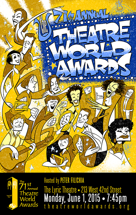 The Theatre World Awards poster, 2015