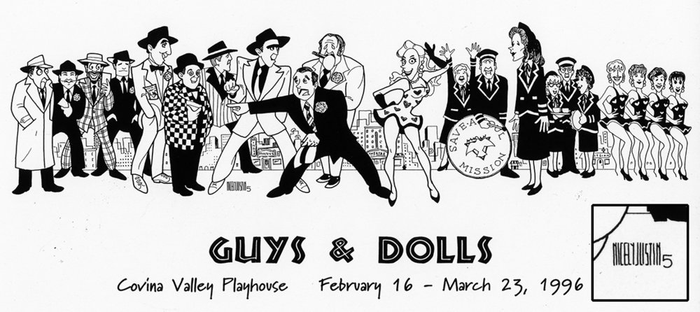 Guys and Dolls   (1995), Covina Valley Playhouse