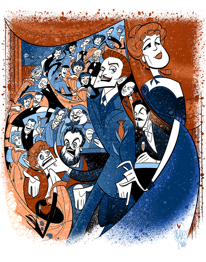 Can-Can   (2014) The Paper Mill Playhouse, starring Kate Baldwin, Jason Danieley, Michael Berresse, Greg Hildreth, Megan Sikora, Mark Price, Squigs