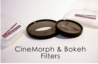 Anamorphic lens looks without using an Anamorphic lens: The CineMorph Filters.