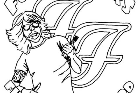 The Foo Fighters are known for the music, but they're also pretty famous for their crazy tour riders. Their last one included a coloring book and a detailed description about their favorite ice. A local superfan got word that the band might visit his deli specifically for their ice.