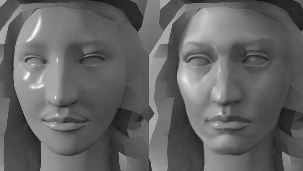 Athena Face Sculpting