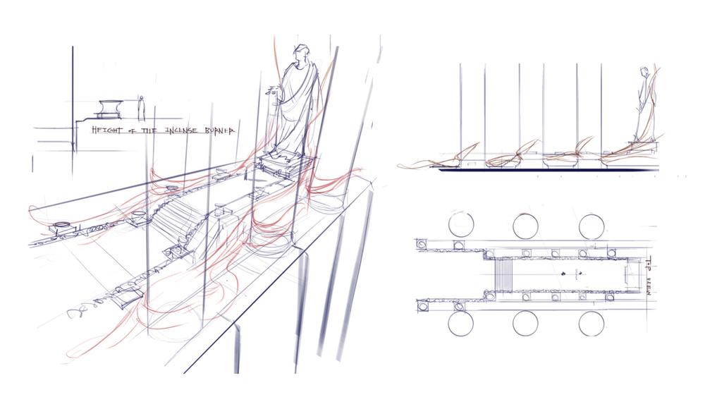 Designed by Jaguar Lee / Sketched by Tommy Kim