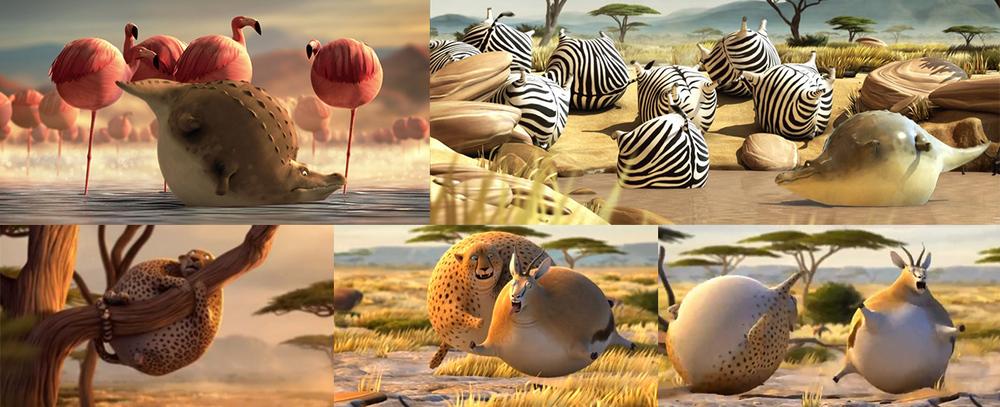 Storytelling Style Reference:  Rollin' safari