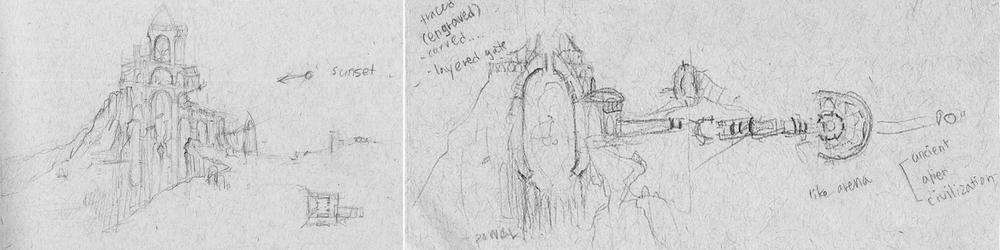 Rough Sketchces