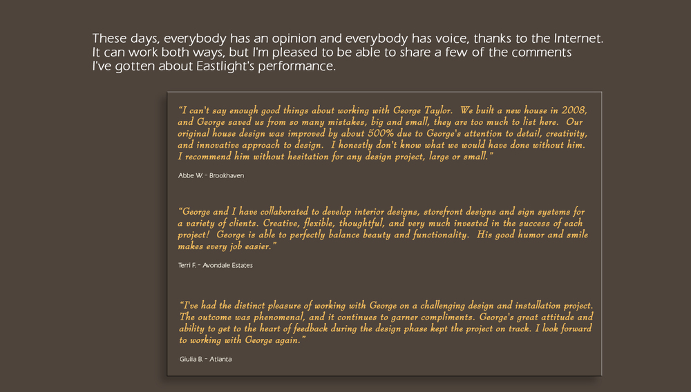 Reviews Oo Eastlight Studio