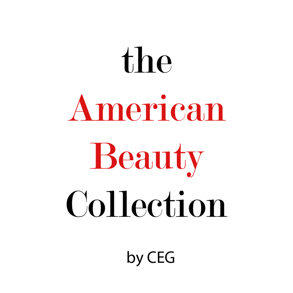 the American Beauty Collection This NEW collection by CEG is a classic glamour portrait shoot with predominately high contrast reds, beauty lighting, and a timeless feel that will last generations to come.
