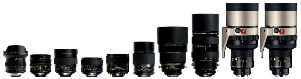 Leica R Lenses - Full Set.jpg