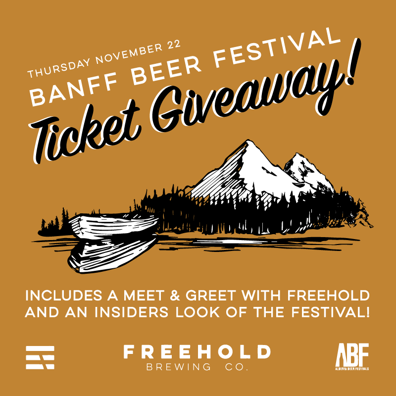 Alicia Hoogveld Freehold Brewery Banff Fest Graphic Design Ticket Giveaway.png
