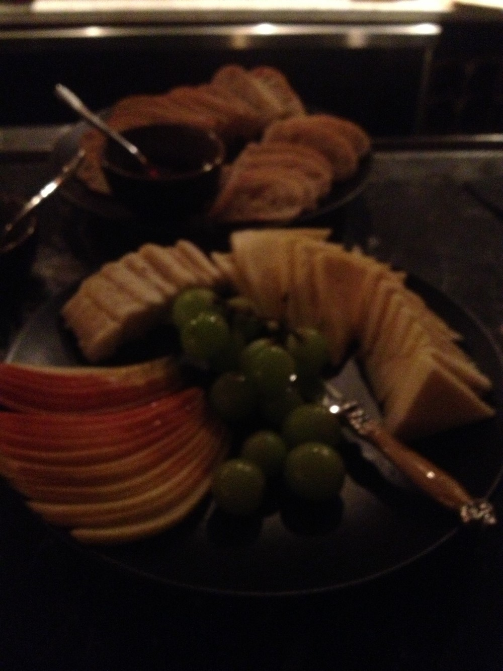 Cheese Plate was not Blurry in Real Life