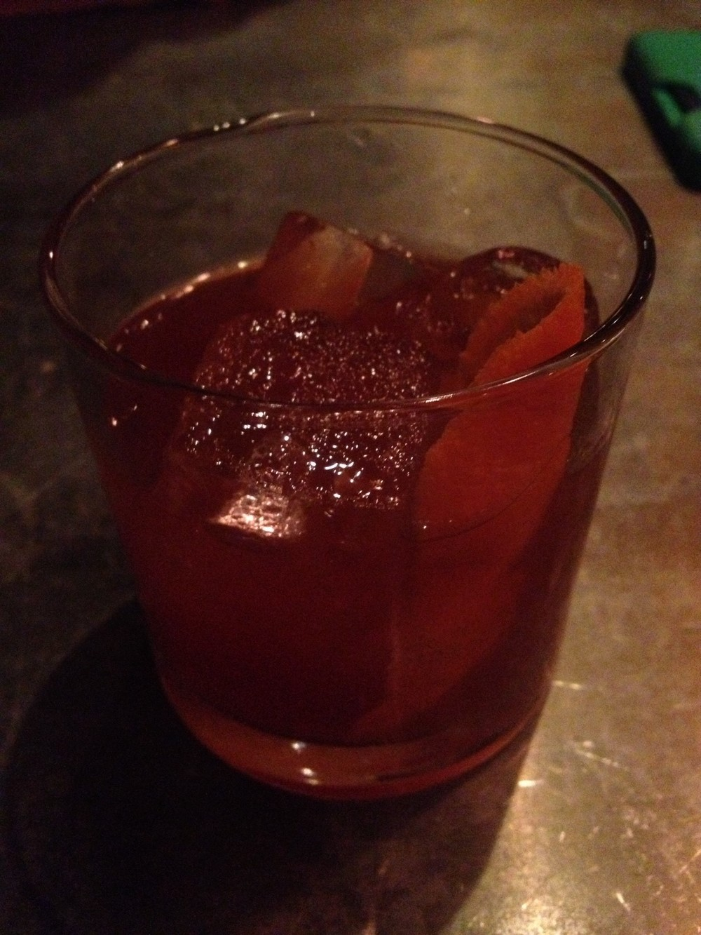 Candied Ginger Old Fashioned