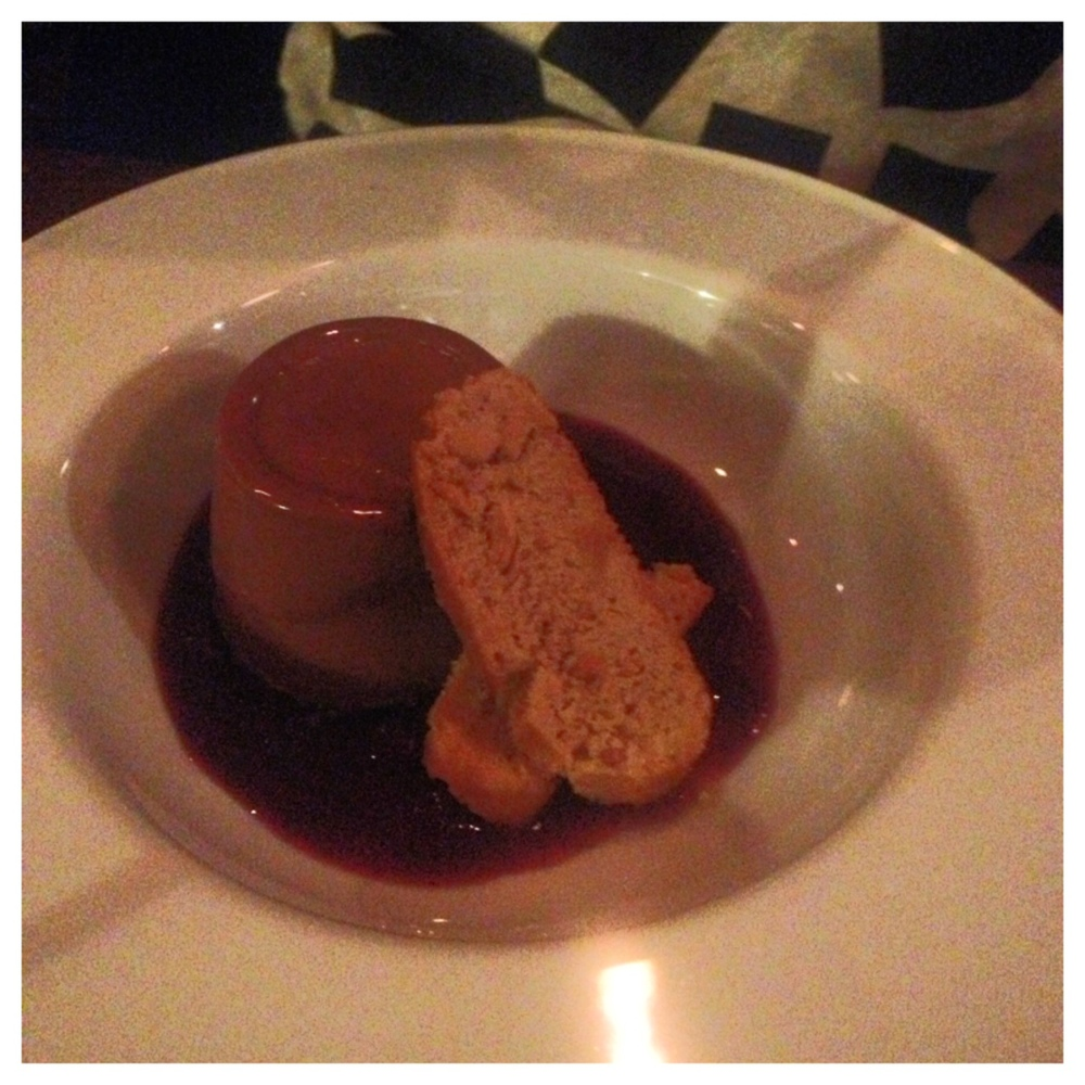Milk Chocolate Panna Cotta
