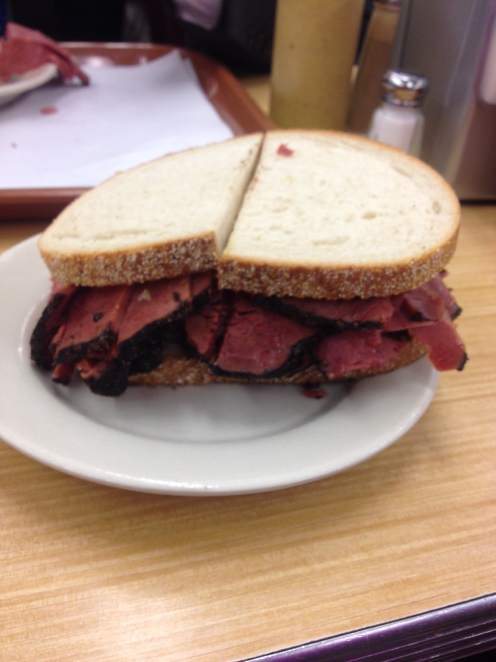 Lean Pastrami Sandwich