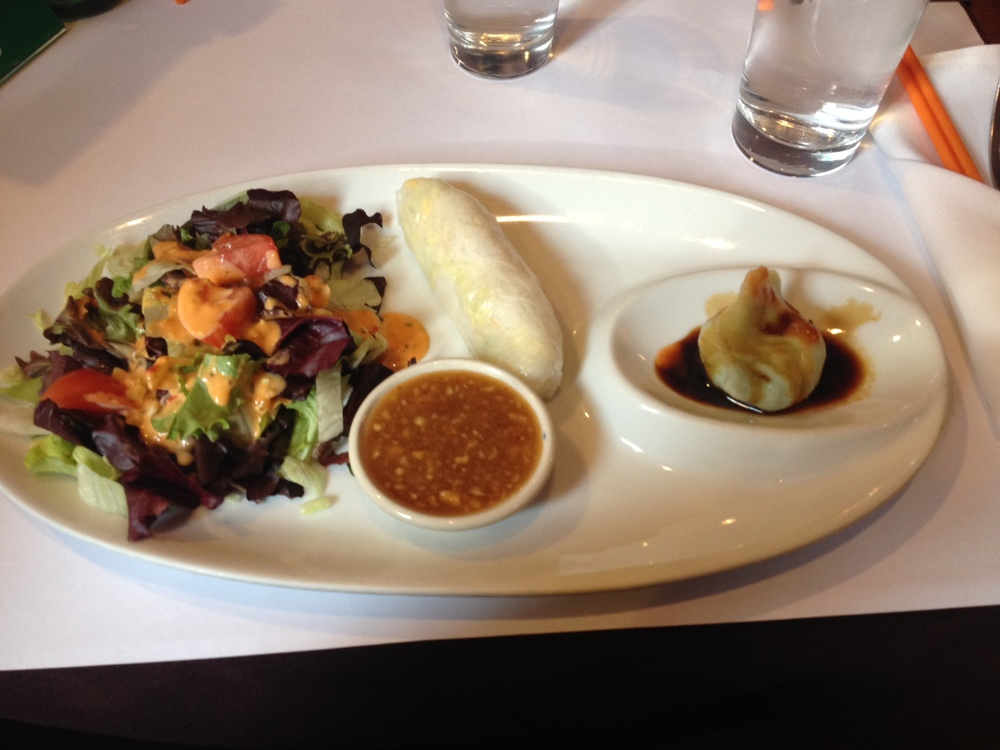 Appetizer plate is included for the early birds!
