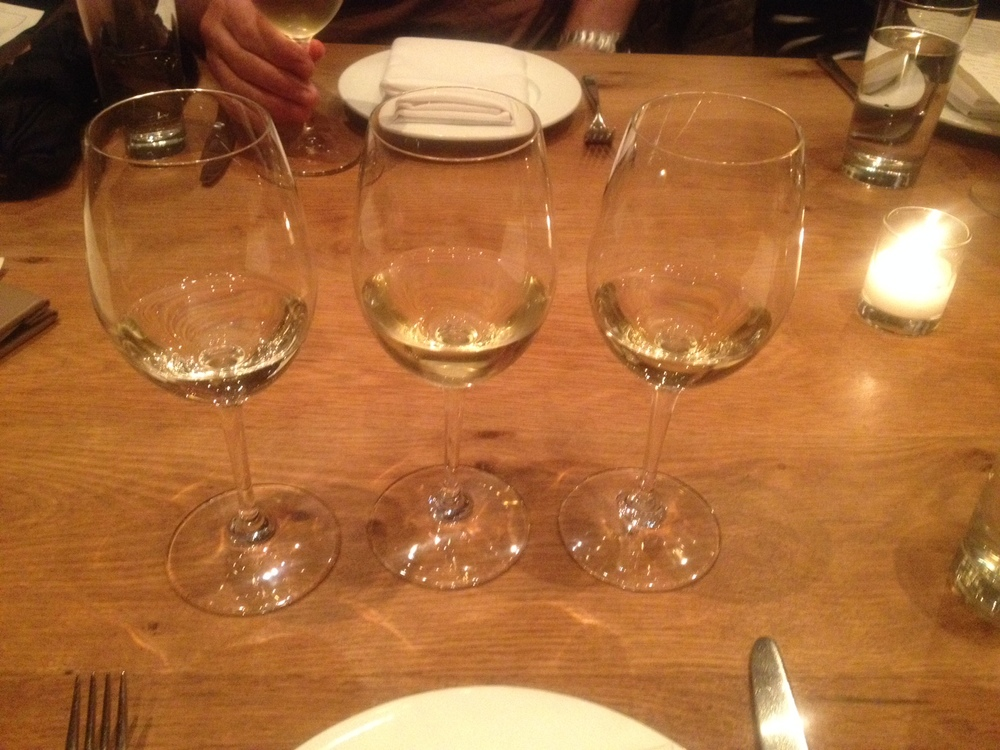 Blind White Wine Tasting