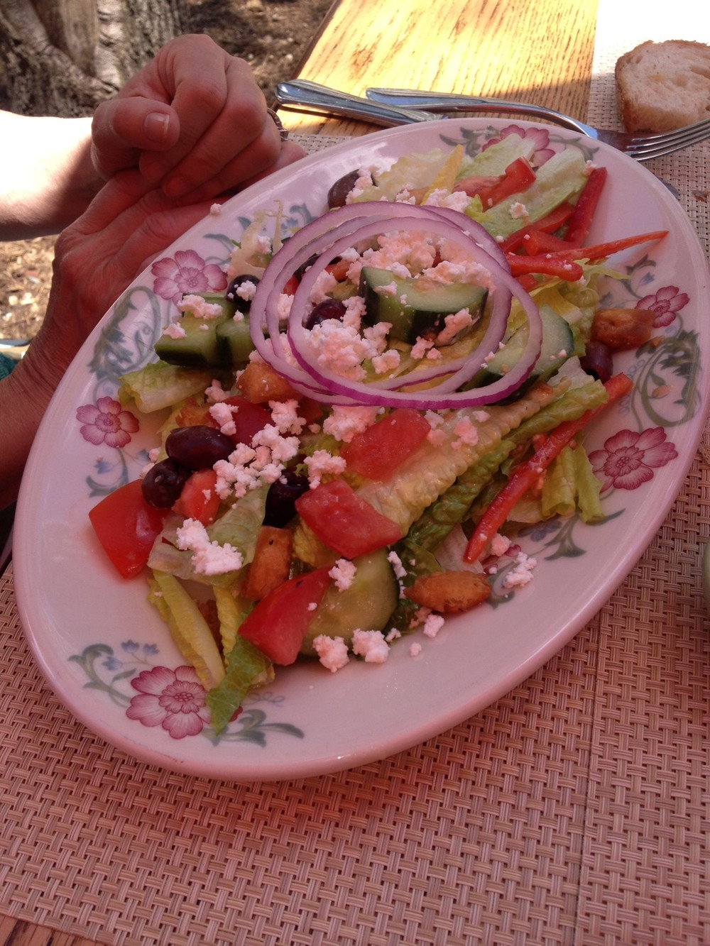 Greek Salad for the win