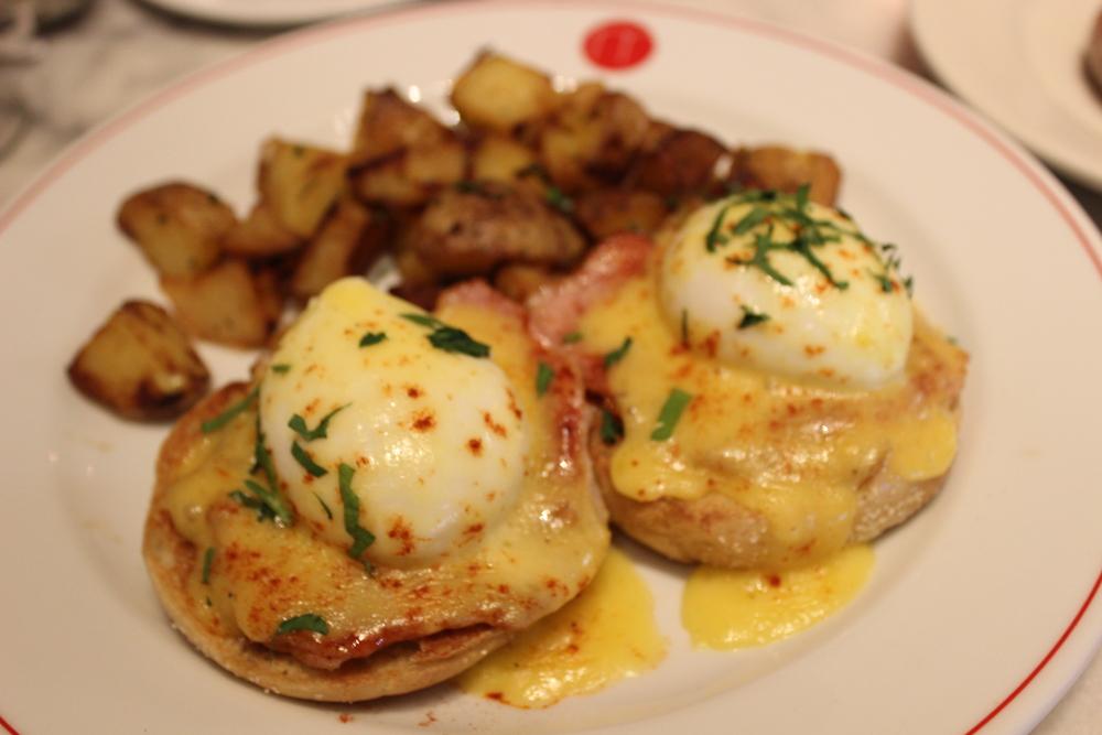 Eggs Benedict - delish!