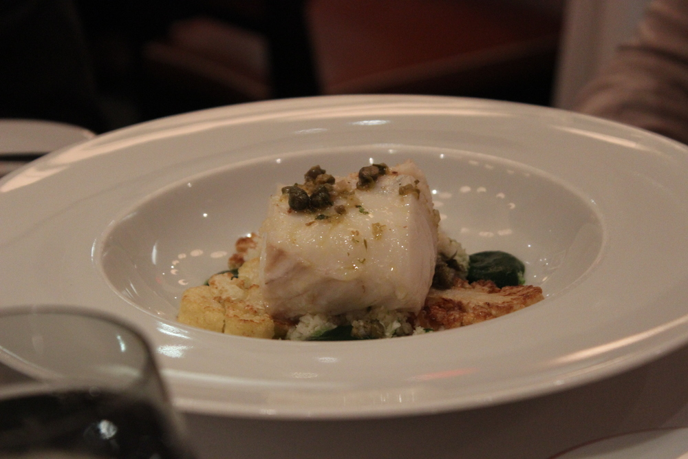 Olive Oil Poached Cod
