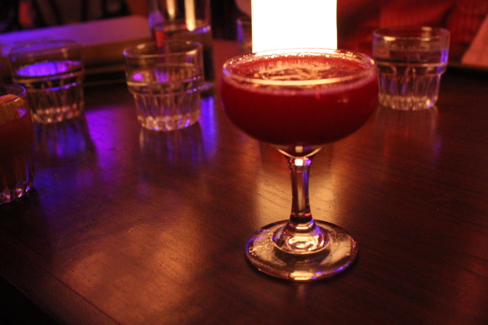 Blackberry Gimlet