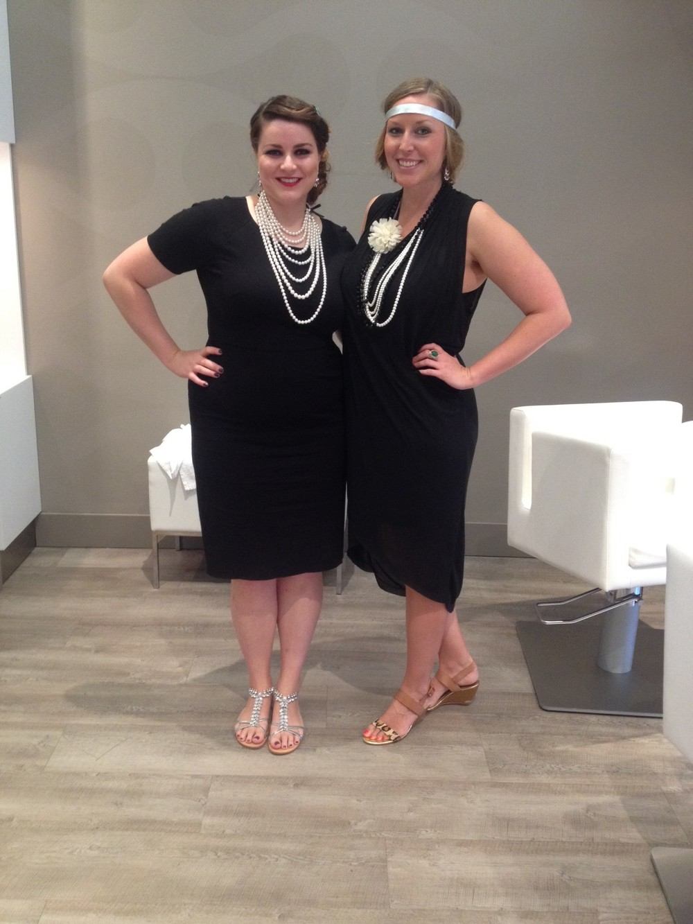 We got up early to get our HAIR DID at Blo Chelsea