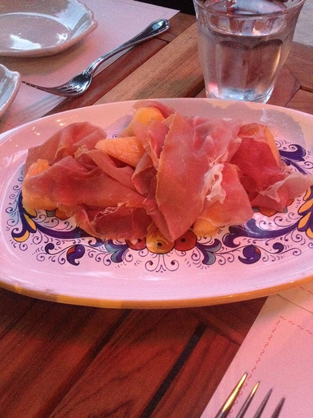 Prosciutto with Melon