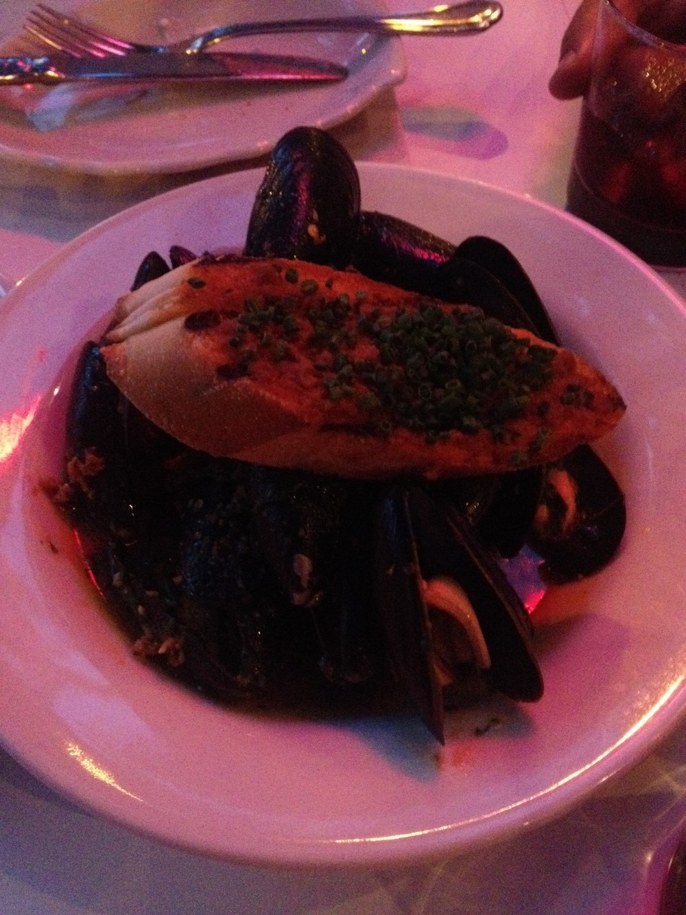 Mussels Calabrese