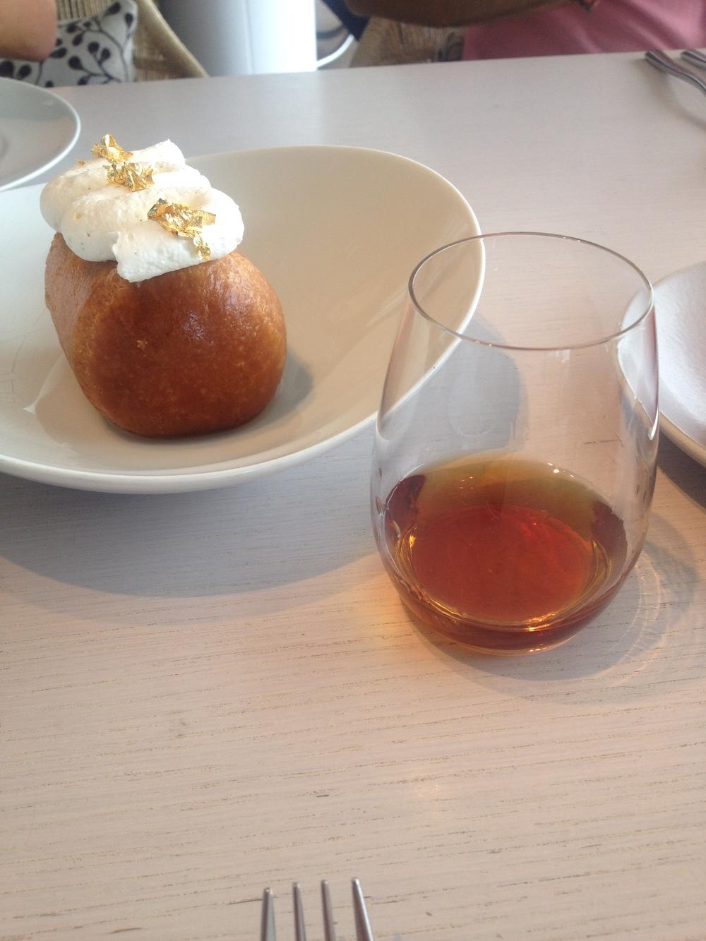 Rum Baba with Zacapa XO